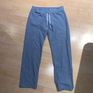 FIGS Heather Indigo Basic Livingston Scrub Pants